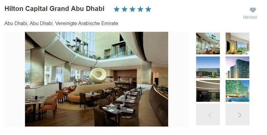 Hilton Capital Abu Dhabi