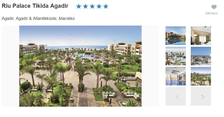 Bild Riu Palace Tikkida Agadir