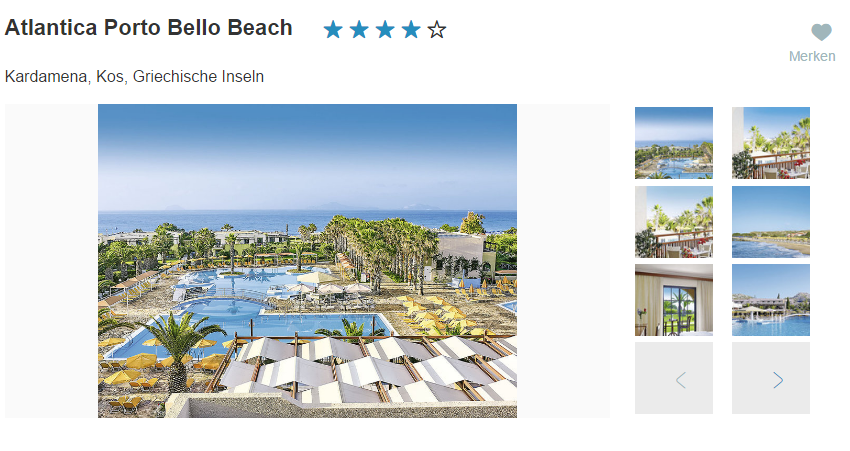 Bild Club Portello Beach
