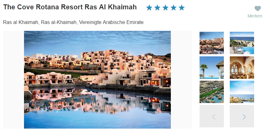 Bild Cove Rotana Resort Ras Al Khaimah