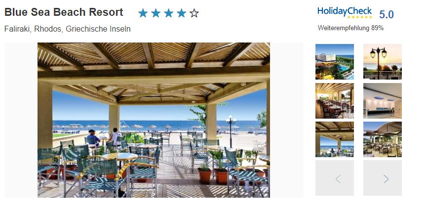 Bild Blue Sea Beach Resort
