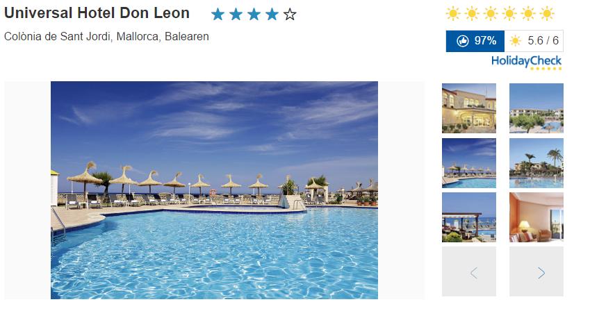 BIld Universal Hotel Don Leon